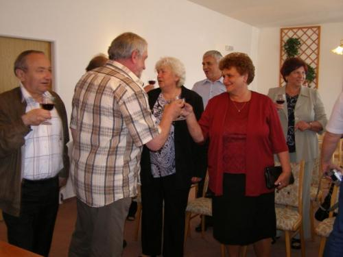 23. 5. 2009 Setkání spolužáků 1945