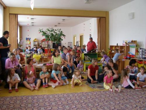 24. 6. 2011 – MŠ rozloučení s předškoláky