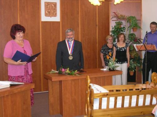 16. 6. 2012 – vítání Leona Tručková