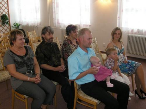 16. 6. 2012 – vítání Daniela Bábuňková