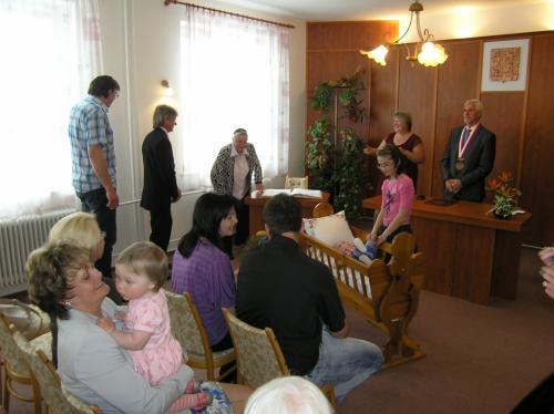 9. 5. 2015 – vítání Růžička Matěj