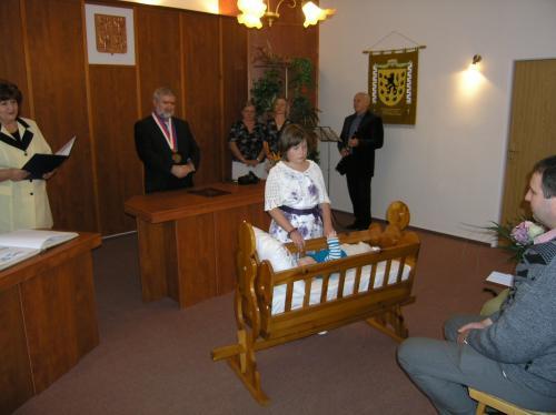 10. 10. 2015 – vítání Daniel jůza