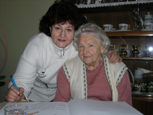 8. 2. 2016 – 90-tiny, paní Anežka Jandová