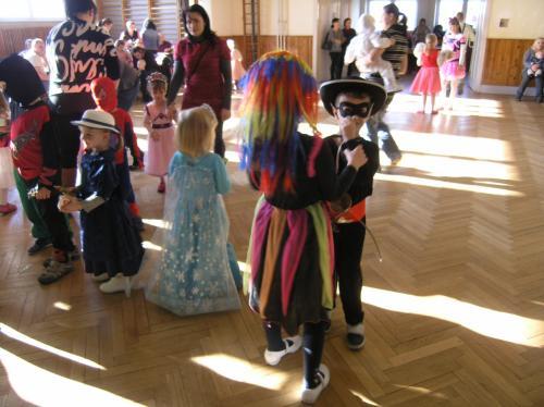 13. 2. 2016 – dětský karneval