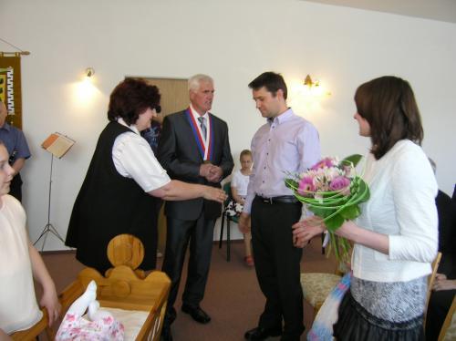 30. 4. 2016 – vítání Elena Dragounová